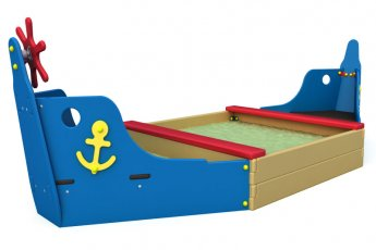 """Песочница """"Лодка"""""""